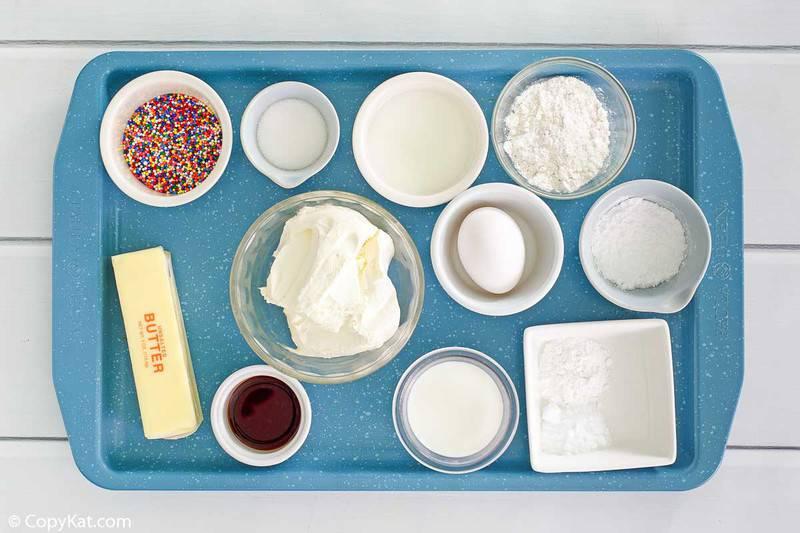IHOP Cupcake Pancakes ingredients