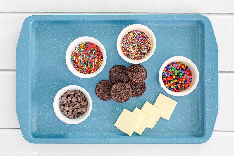 Ingredientes Oreos cubiertos de chocolate blanco