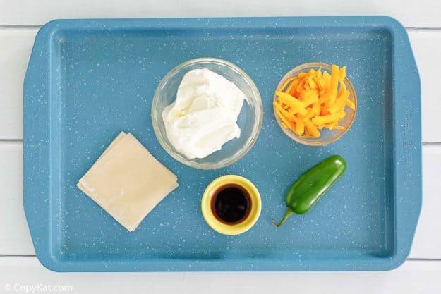 wonton jalapeno poppers ingredients