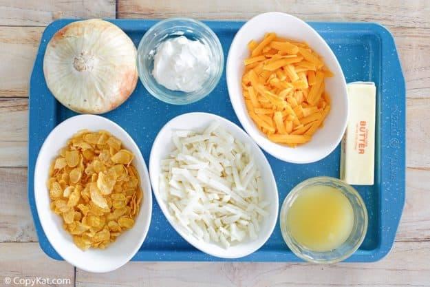 cheesy hashbrown casserole ingredients