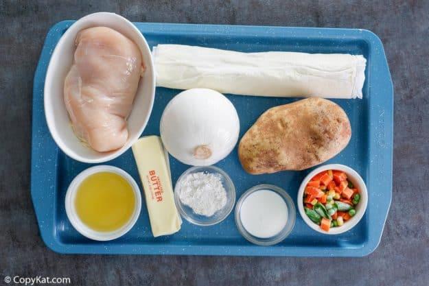 Jason's Deli chicken pot pie soup ingredients