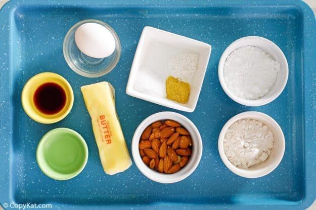 Keebler almond shortbread cookies ingredients