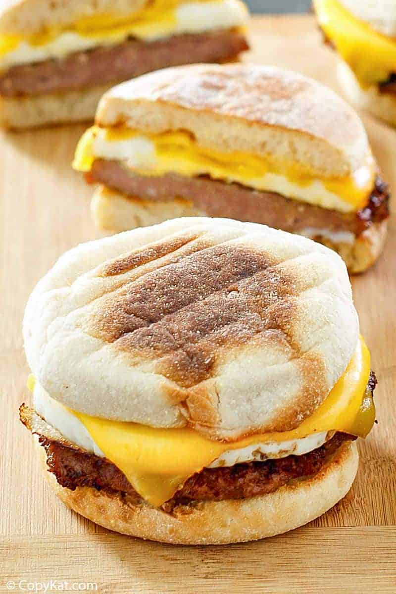 Mcdonald S Sausage Egg Mcmuffin Copykat Recipes