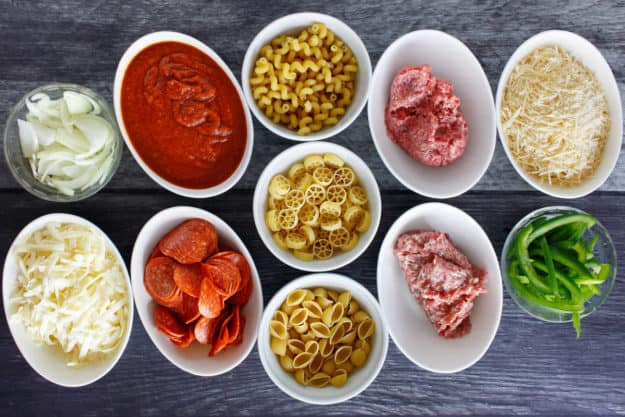 Pizza Hut Cavatini ingredients
