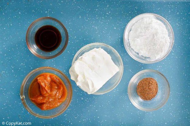 pumpkin pie dip ingredients