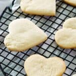 cake mix cookies on a cooling rack