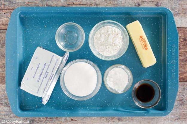 cream cheese spritz cookies ingredients