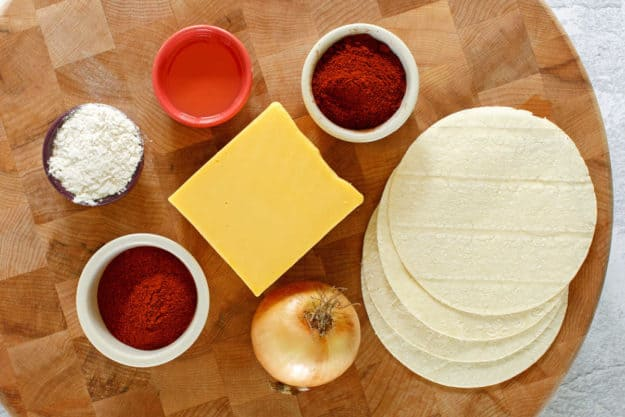 El Chico cheese enchiladas ingredients