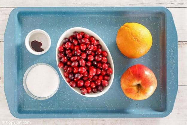 Luby's cranberry relish ingredients
