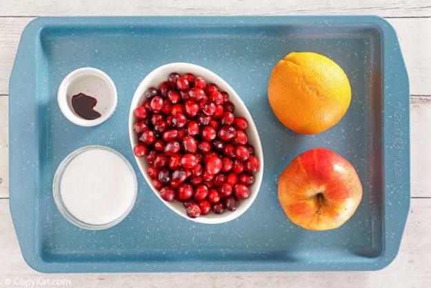 Ingredientes de condimento de arándano de Luby