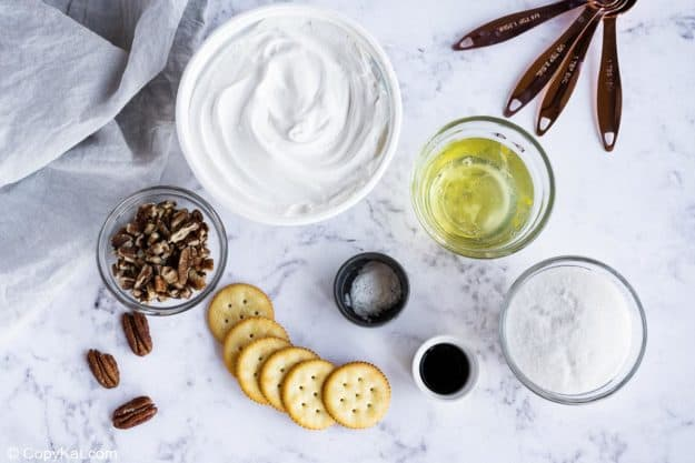 Piccadilly Pecan Delight Pie ingredients