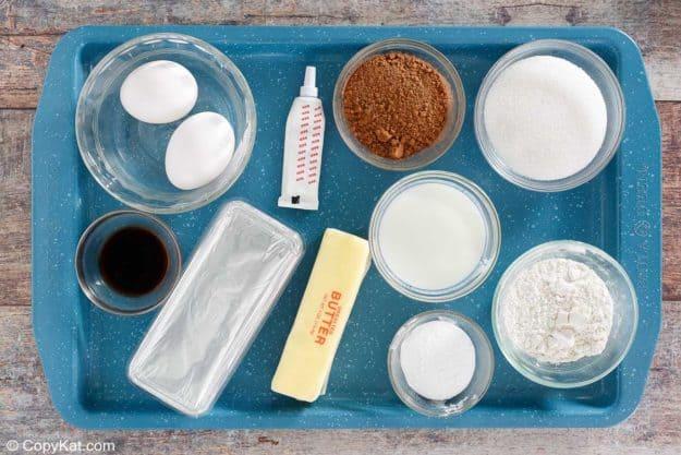 Waldorf Astoria Red Velvet Cake ingredients