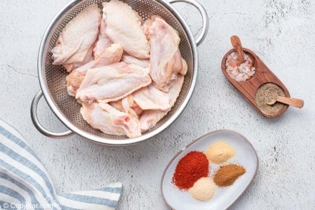 air fryer sweet and spicy chicken wings ingredients