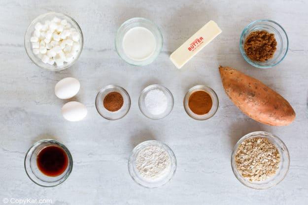 Boston Market sweet potato casserole ingredients