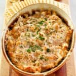 boudin dip and crackers