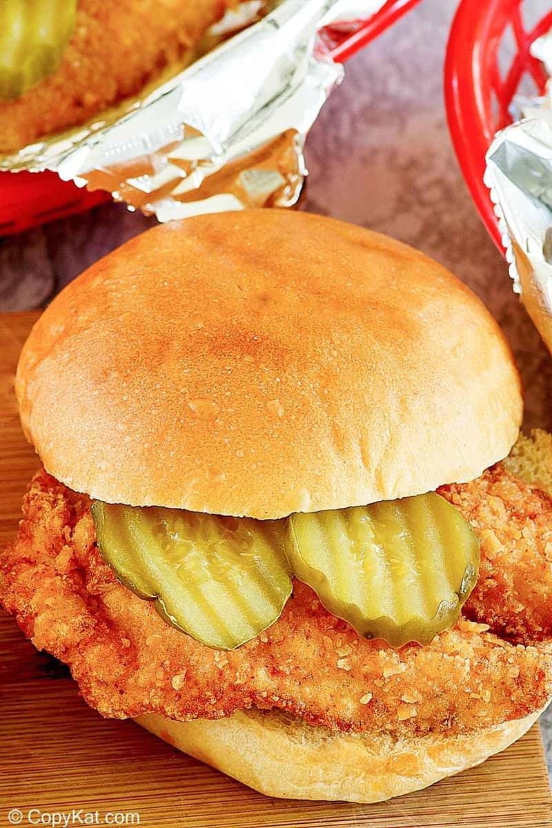 homemade Chick Fil A Chicken Sandwich