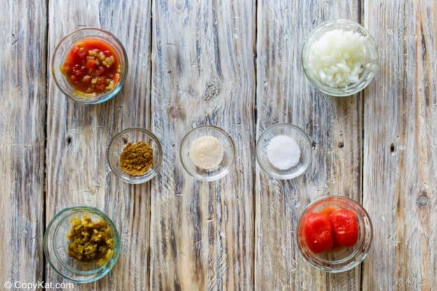 Chili's salsa ingredients