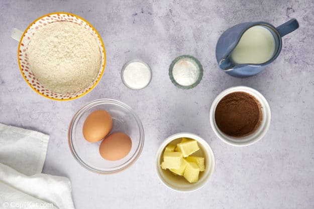 chocolate pancakes ingredients