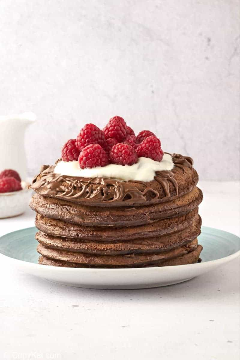 Chocolate Pancakes Recipe Copykat Recipes