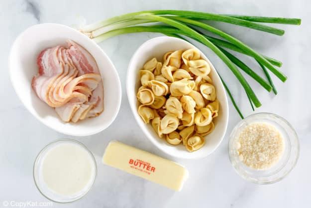 Olive Garden Tortellini al Forno ingredients