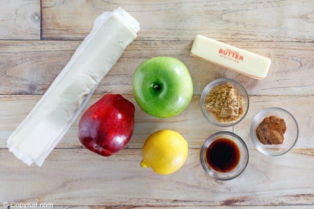 McDonald's apple pie ingredients