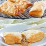 homemade McDonald's Apple Pie on a plate and on a rack