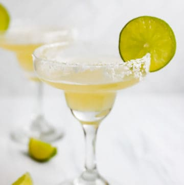 homemade Rio Bravo margarita