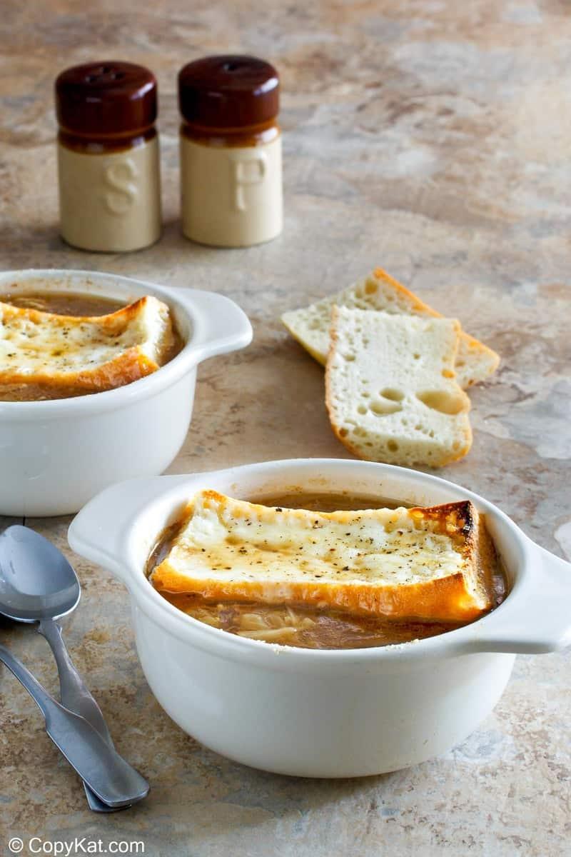 homemade Applebee's French Onion Soup