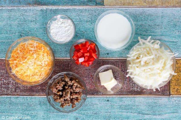 Cracker Barrel loaded hash brown casserole ingredients