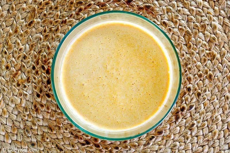mezcla casera de natillas de calabaza Cracker Barrel