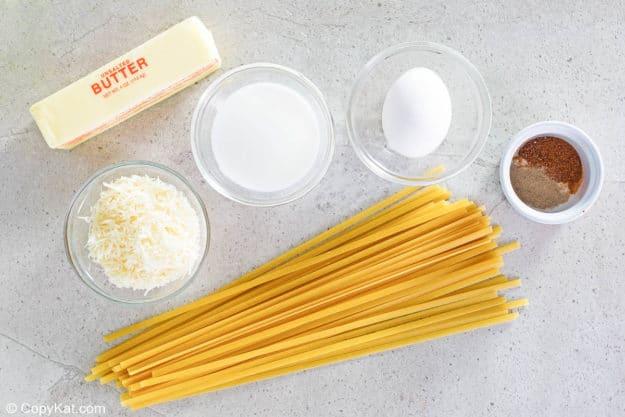 ingredientes de la salsa alfredo cremosa