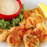 homemade Shrimp Alexander with beurre blanc sauce