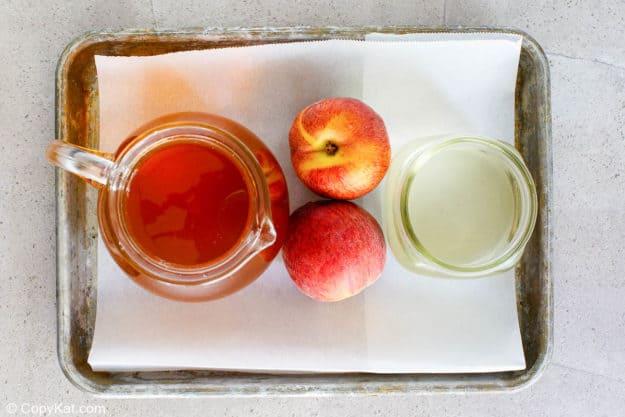 Olive Garden Peach Iced Tea ingredients