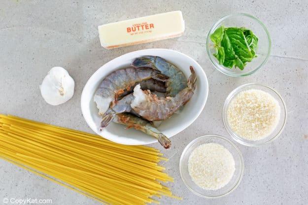 Olive Garden Shrimp Christopher ingredients
