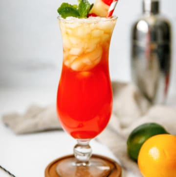 homemade Red Lobster Mai Tai cocktail
