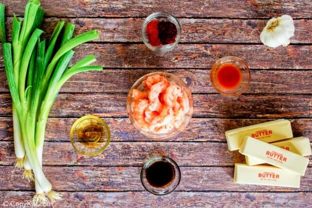 Ruth Chris barbecue shrimp ingredients