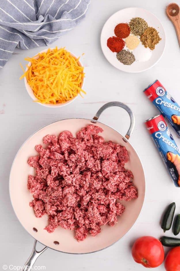 taco ring ingredients