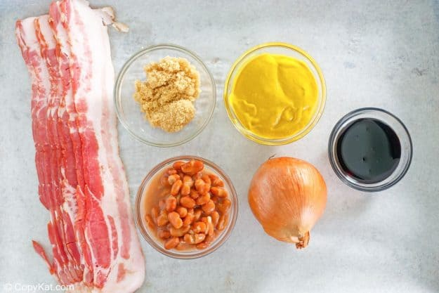 bbq baked beans ingredients