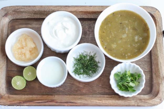 creamy salsa verde salad dressing ingredients