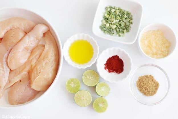 fajita chicken ingredients
