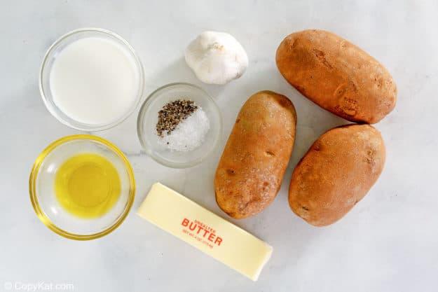 Saltgrass Steakhouse garlic mashed potatoes ingredients