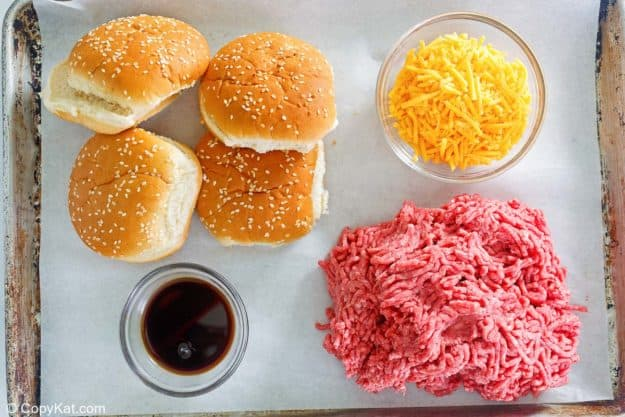 ingredientes de hamburguesas rellenas