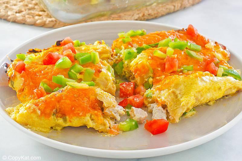 turkey enchiladas on a plate