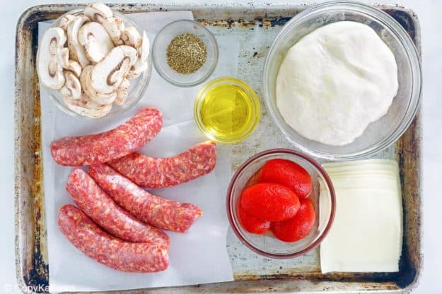 Uno deep dish pizza ingredients