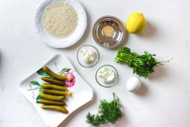 Disney fried pickles and ranch dressing ingredients