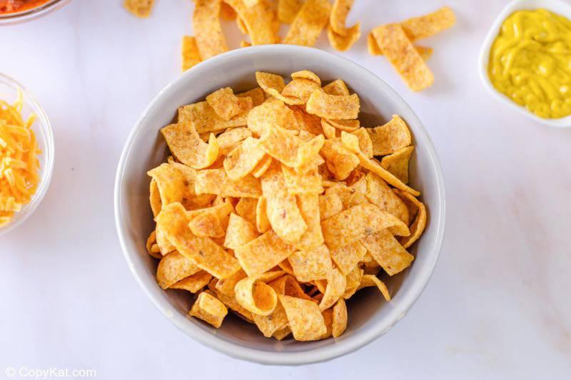 Fritos in a bowl