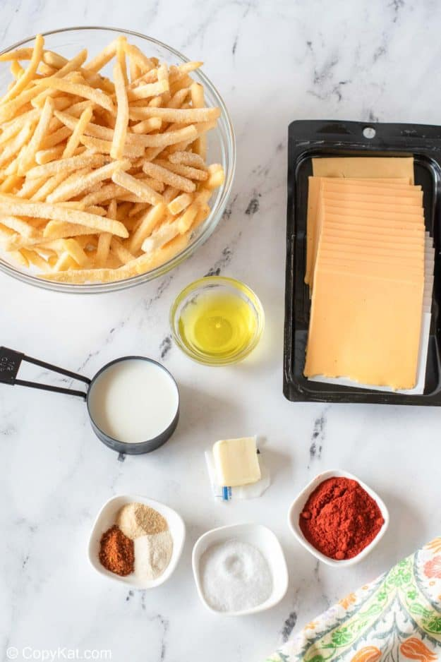 Taco Bell Nacho Fries ingredients