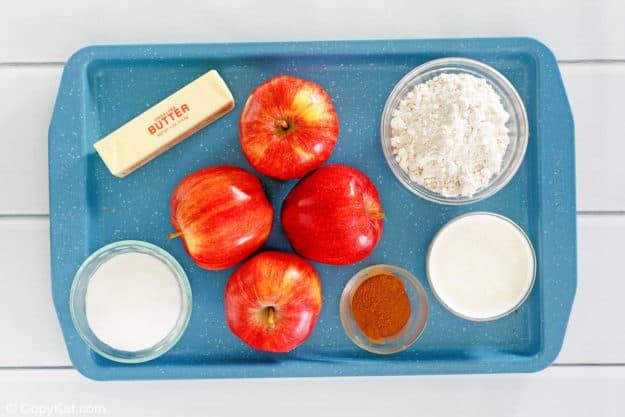 Bisquick apple cobbler ingredients