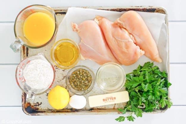 chicken francese ingredients