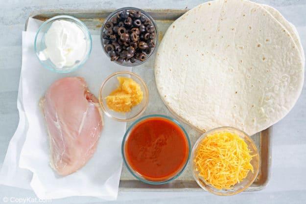 sour cream chicken enchiladas ingredients
